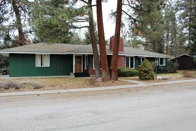 Missoula Single Family Home Under Contract Taking Back-Up : 4111 Timberlane