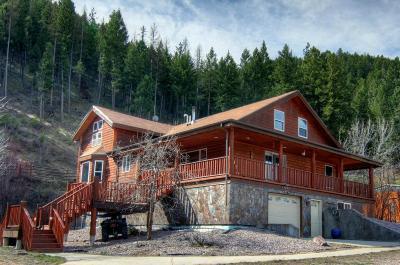Alberton, Bonner, Clinton, Florence, Frenchtown, Greenough, Huson, Lolo, Missoula, Potomac Single Family Home For Sale: 22285 Wallace Creek Road