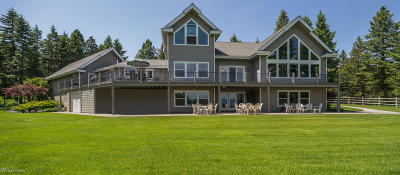 Flathead County Single Family Home Under Contract Taking Back-Up : 470 Lake Hills Lane