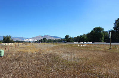 Missoula Residential Lots & Land Under Contract Taking Back-Up : 4301 Highway 93 South