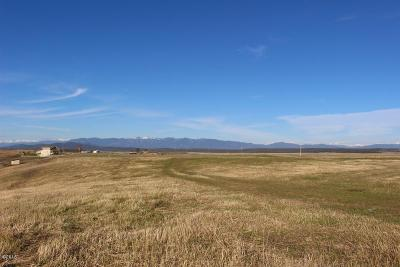 Kalispell Residential Lots & Land For Sale: Nhn Prcl B West Valley Drive