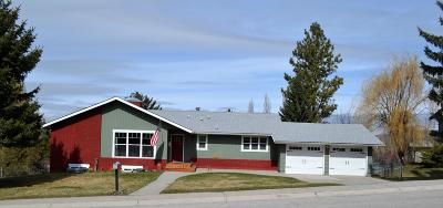 Missoula Single Family Home Under Contract Taking Back-Up : 102 Rimrock Way