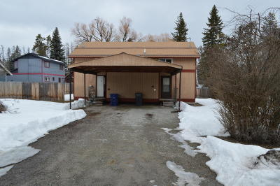 Flathead County Multi Family Home Under Contract Taking Back-Up : 310 West 8th Street