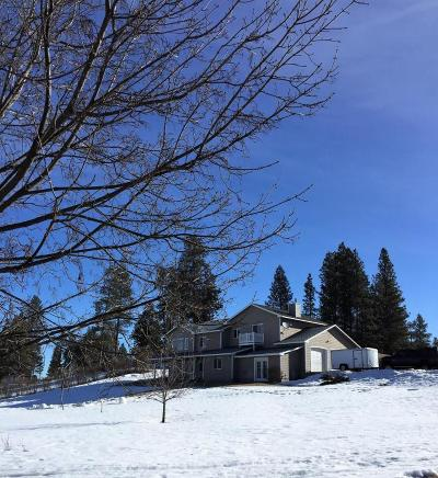 Kalispell Single Family Home Under Contract Taking Back-Up : 3165 Whitefish Stage Road