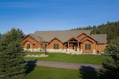 Bigfork Single Family Home For Sale: 107 Cougar Loop