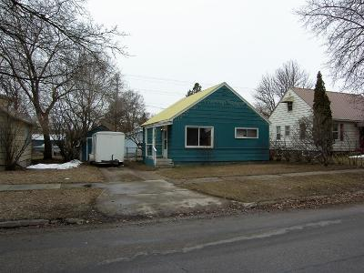 Kalispell Single Family Home Under Contract Taking Back-Up : 1328 3rd Avenue East