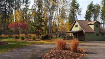 Bigfork Single Family Home For Sale: 654 Aero Lane