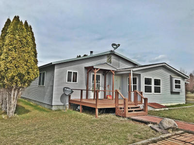Florence MT Single Family Home Under Contract Taking Back-Up : $185,000