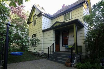 Missoula Single Family Home For Sale: 1121 Poplar Street