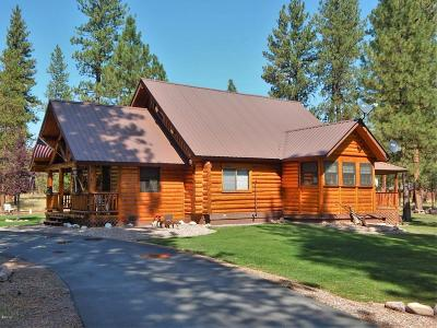 Seeley Lake MT Single Family Home For Sale: $325,000