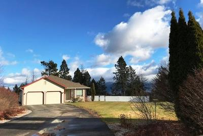 Kalispell Single Family Home Under Contract Taking Back-Up : 2620 Mission Trail Way