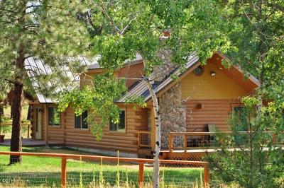 Hamilton Single Family Home Under Contract Taking Back-Up : 900 Sheafman Creek Road