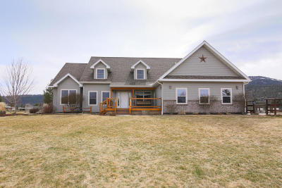 Missoula Single Family Home For Sale: 11307 Melody Lane