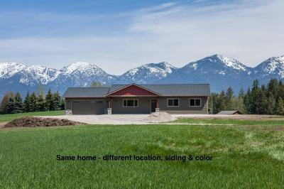 Kalispell Single Family Home Under Contract with Bump Claus: 159 Splendid View Drive