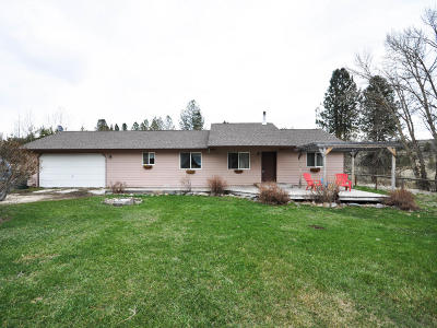 Stevensville Single Family Home Under Contract Taking Back-Up : 755 Dry Gulch Road