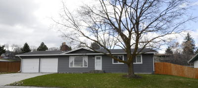 Missoula Single Family Home Under Contract Taking Back-Up : 2305 South Hills Drive