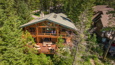 Flathead County Single Family Home Under Contract Taking Back-Up : 2286 Houston Point Drive