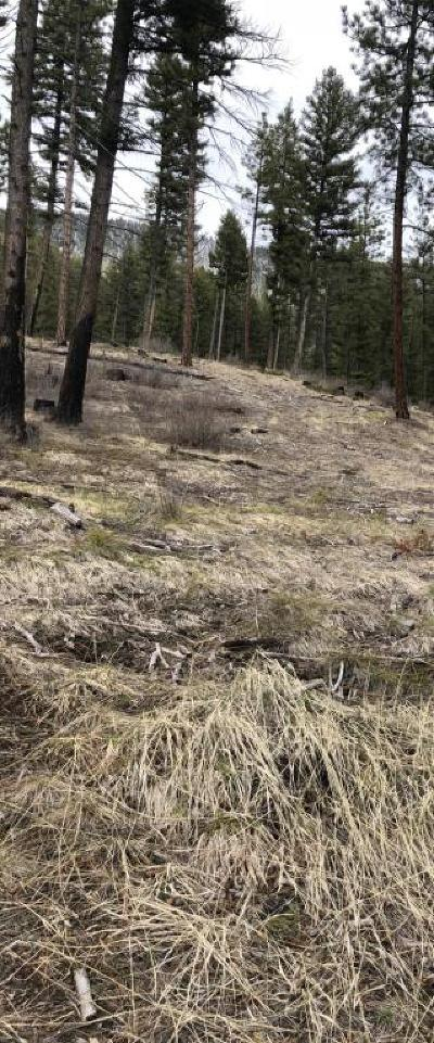 Missoula County Residential Lots & Land Under Contract Taking Back-Up : 15321 Spring Hill Road