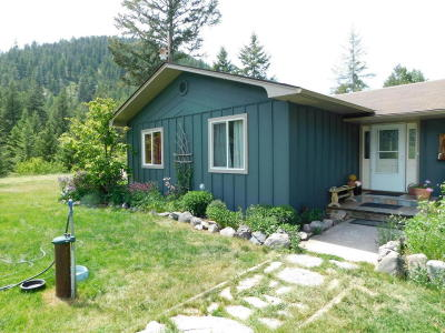 Missoula County Single Family Home For Sale: 12385 Crystal Creek Road