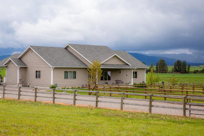 Flathead County Single Family Home Under Contract Taking Back-Up : 34 Barrel Hed Road