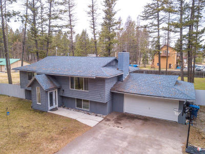 Whitefish Single Family Home Under Contract Taking Back-Up : 384 Elk Trail
