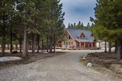 Flathead County Single Family Home Under Contract Taking Back-Up : 185 Tumbleweed Trail