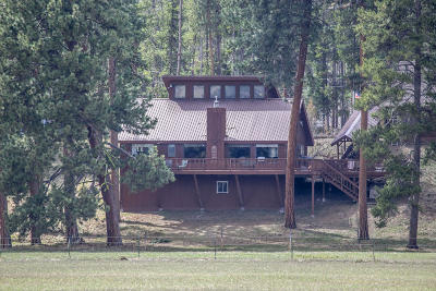 Seeley Lake Single Family Home For Sale: 155 Wagon Wheel Way