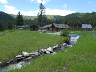 Ravalli County Single Family Home For Sale: 1527 2 Eagle Trail