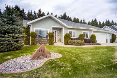 Flathead County Single Family Home For Sale: 19 Glacier Circle