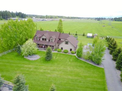 Kalispell Single Family Home For Sale: 2265 Helena Flats Road