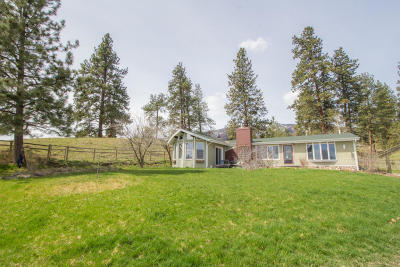Florence Single Family Home For Sale: 19100 Old Us Hwy 93