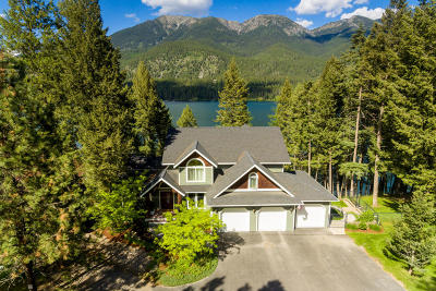 Flathead County Single Family Home For Sale: 261 Lake Blaine Drive