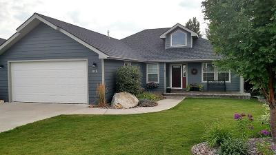 Kalispell Single Family Home Under Contract Taking Back-Up : 95 Sunset Court