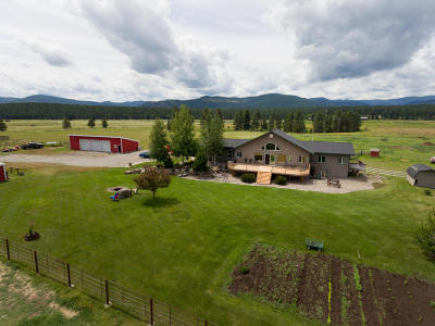 Flathead County Single Family Home Under Contract Taking Back-Up : 124 Ledoux Drive