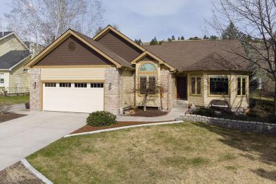 Missoula MT Single Family Home For Sale: $527,500