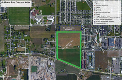 Missoula Residential Lots & Land Under Contract Taking Back-Up : Ukn Mullan Rd And Flynn Lane