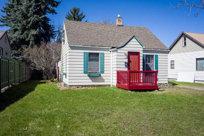 Kalispell MT Single Family Home For Sale: $210,000