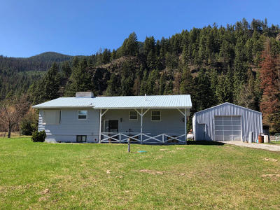 Thompson Falls Single Family Home Under Contract Taking Back-Up : 35 Estate Road Road