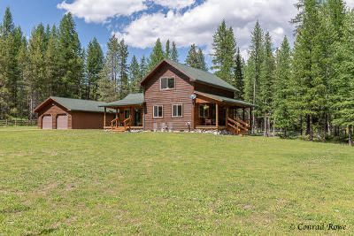 Flathead County Single Family Home Under Contract with Bump Claus: 1181 Old Stone Road