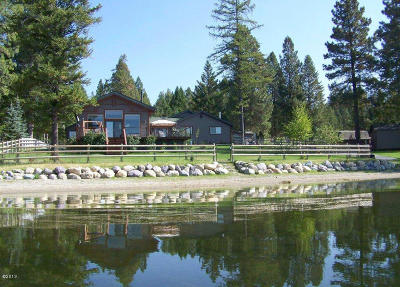 Flathead County Single Family Home For Sale: 1436 Rogers Lane