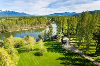 Flathead County Single Family Home For Sale: 711 Swan River Road