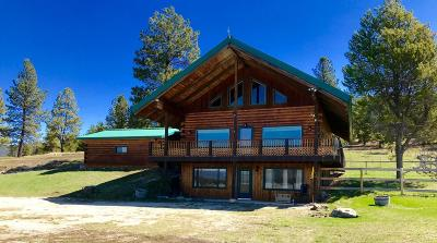 Flathead County Single Family Home For Sale: 10130 Lost Prairie Road