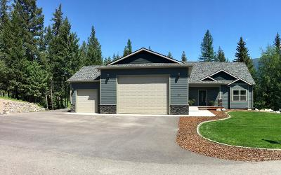 Columbia Falls Single Family Home For Sale: 155 Mountain Timbers Drive