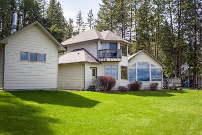 Polson Single Family Home Under Contract Taking Back-Up : 28655 Shady Lane