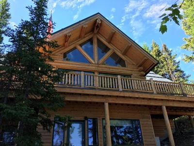 Flathead County Single Family Home For Sale: 4198 Ashley Lake Road