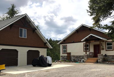 Flathead County Single Family Home Under Contract Taking Back-Up : 364 Shelter Valley Drive