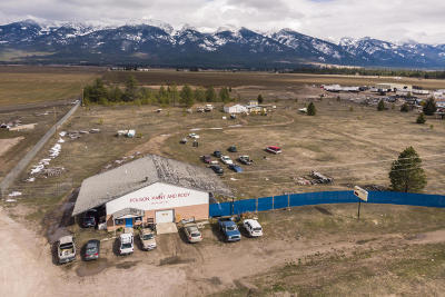 Lake County Commercial For Sale: 54950 Us Hwy 93