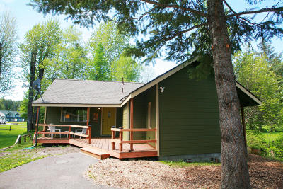 West Glacier, Polebridge Single Family Home For Sale: 690 River Bend Drive