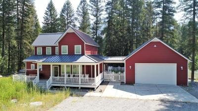 Thompson Falls Single Family Home For Sale: 7 Craws Nest Loop