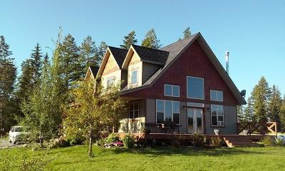 Flathead County Single Family Home Under Contract Taking Back-Up : 483 Trap Road